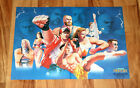 1995 Fatal Fury King of Fighters Neo Geo Very Rare Vintage Poster 30x41cm