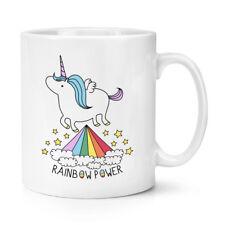 Unicorn Rainbow Power 10oz Tazza-Divertente Glitter Stelle