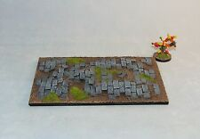 Large monster base 150X100mm Paved Scenic resin base X1 fantasy warhammer