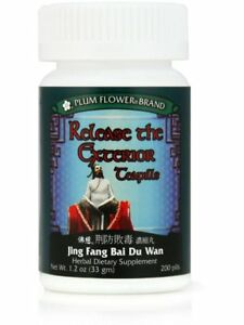 Plum Flower, Release The Exterior Formula, Jing Fang Bai Du Wan, 200 ct