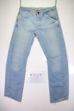 Levi's Engineered 796 (Cod.Y1219) tg47 W33 L34 jeans usato vintage