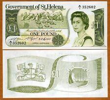 St. Helena, 1 Pound, ND (1981), QEII, P-9, UNC