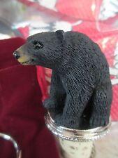Black Bear Wine Stopper