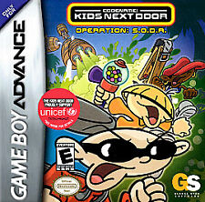Codename: Kids Next Door - Operation S.O.D.A. for GBA L@@K New !!