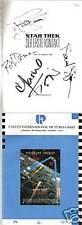 Star Trek First Contact German signed Pressbook
