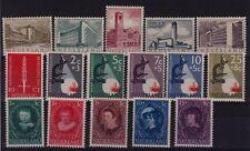 JAARGANG 1955 NVPH 655-670 POSTFRIS CAT.WAARDE 60,00 EURO