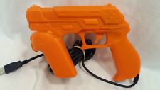 NAMCO NC-109 G/C System Product 3 GUNCON PS3 Orange Light Gun.
