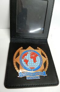International Police Association Australia Wallet badge + wallet