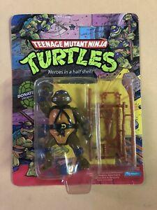 TMNT Donatello Figure MOC 1990 Vintage RARE Unpunched