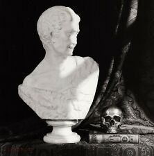 1987 Vintage BUST SKULL Sculpture Still Life Photo Art 11x14 ROBERT MAPPLETHORPE
