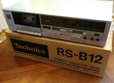 Technics Rs-B12 Silver Stereo Tape Cassette Deck Player Dolby Japan *Serviced*