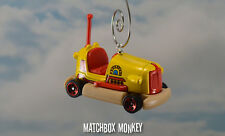 The Beatles Yellow Submarine Bumper Car Dodge Em Go Cart Christmas Ornament