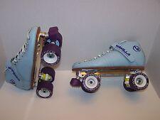 New Vanilla Classic Powertrac Custom Leather Roller Skates Mens 9