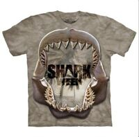 The Mountain Shark Week Reflect Mono Men's Tee Shirt S-M-L-XL-2X-3X-4X-5X NWT.