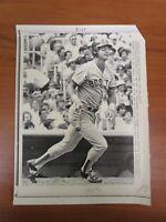 Vintage Baseball Ap Wire Press Photo 1981 Boston Red Sox Carl Yastrzemski