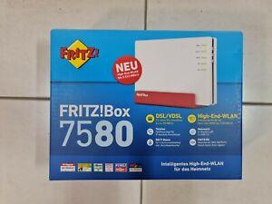 AVM fritz!box 7580 DSL Router WLAN neu und original verpackt