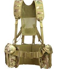 More details for mod cadet webbing lightweight british army airborne style mtp btp camo