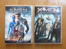 Lot 2 DVD X-MEN : Days of future past et Le commencement