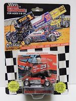1993 JOHNNY HERRERA SIGNED 1:64 WORLD OF OUTLAWS RACING SPRINT CAR SNAP-ON TOOLS