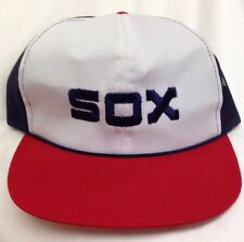 Chicago White Sox McDonald's Baseball Cap 1984 Adjustable Hat MLB Snapback Mesh