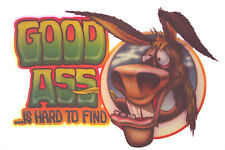 GOOD ASS IS HARD TO FIND VINTAGE SHIRT IRON-ON PORNO LEWD FUNNY HEAT TRANSFER