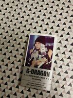 G-DRAGON GD BIG BANG GDRAGON BIGBANG VERY SEXY COLLECTION MINI POSTCARD SET 56p