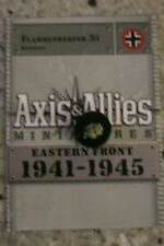AXIS & ALLIES MINIATURES EASTERN FRONT 33 FLAMMENWERFER 35 UC WITH CARD