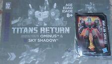 Transformers Titans Return SKY SHADOW Manual Card Generations Lot