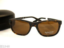Polo Ralph Lauren Dark Tortoise Sunglasses + Polo RL Case  Men's NWT
