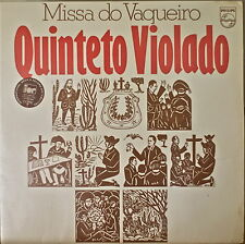 QUINTETO VIOLADO: Missa do Vaqueiro-M1976LP BRAZILIAN IMPORT