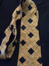 Henry Grethel Man's 100% Silk Tie Beautiful Design! Fantastic Condition!