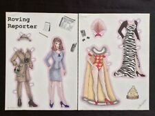 Roving Reporter Paper Doll by Teri Wilson, Mag. Pd. 1999