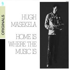 CD Jazz Hugh Masekela Home is Where the Music i Verve South Africa Fender Rhodes
