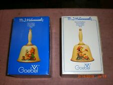 Hummel Goebel bell bells 1978 1979 Nib first second edition new in box