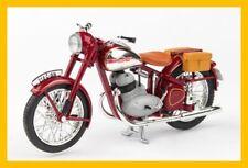 motorcycle JAWA 350 Perak with bags red 1:18 ABREX
