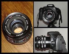 Biometar Carl Zeiss 80mm f 2.8 per CANON EOS. Ottima lente per ritratti e video!