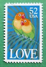 Sc # 2537 ~ 52 cent Love, Birds Issue