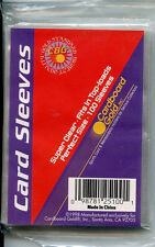 CARDS SUPPLY - CBG CARD SLEEVES - 100 SLEEVES IN PACK