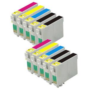 10 cartuchos tinta non oem para Epson XP245 XP247 XP345 XP342 XP442 XP445 29XL