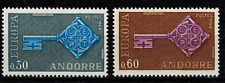 Timbres Europa Andorre N° 188 et 189 Neuf **