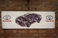 Toyota Celica GT4 ST205 large pvc  WORK SHOP BANNER garage  SHOW BANNER