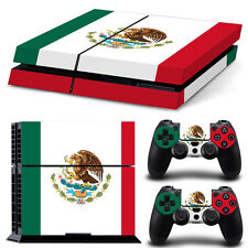 Sony PS4 PLAYSTATION 4 Skin Design Sticker Screen Protector Set - Mexico Motif