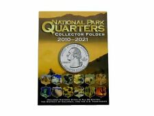National Park Quarter Collectors 2010-2021 Coin Folder by Whitman