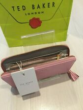 Ted Baker Leather Pink & Rose Gold Matinee Purse RRP £85 Valentines Gift New
