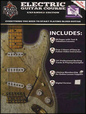 House of Blues Electric Guitar Course Expanded Edition TAB Book & Video