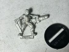 40k Imperial Guard Catachan Female Grenade Launcher Heavy Weapon metal OOP