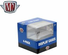 New M2 Machines Acrylic Display Showcases For 1:64 Scale Diecast Cars (4-Pack)