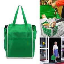 Reusable Shopping Bags Eco Foldable Trolley Tote Cart Storage Bag