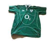 Ireland Canterbury Rugby Shirt 2XL 50 Chest 32 In Length