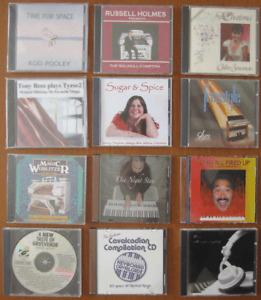 ORGAN KEYBOARD & PIANO MUSIC CDs Various Artistes Yamaha Wurlitzer Wersi Theatre